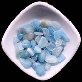 易晶緣水晶碎石天然海藍寶礦物擺件魚缸石頭園藝裝飾消磁水晶凈化
