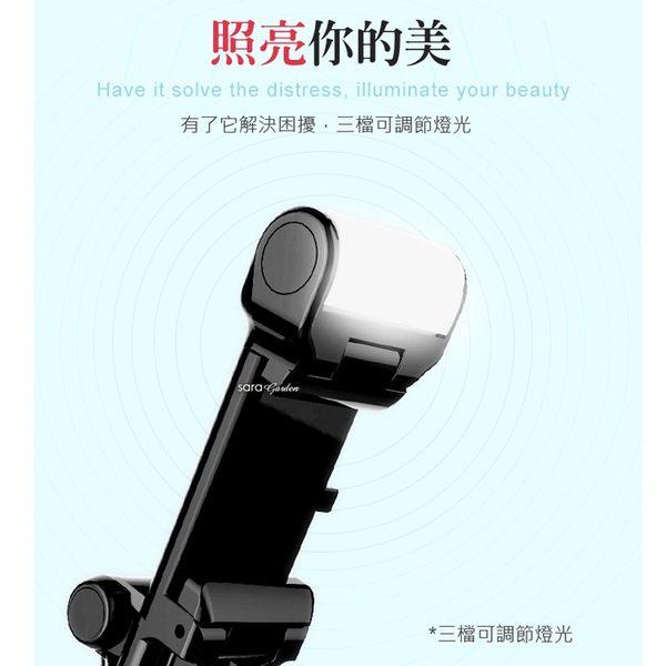 補光 自拍棒 美肌 自拍鏡 線控 自拍杆 自拍桿 A6