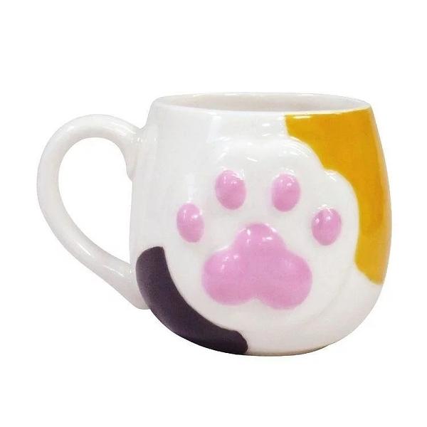 【sunart】日本sunart 馬克杯 - 花貓 High five 趣味 送禮 可愛 貓咪系列
