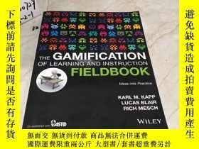 二手書博民逛書店英文原版:The罕見Gamification of Learning and Instruction Fieldb