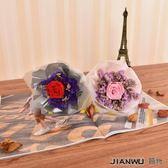 生玫瑰花束干花禮盒生日創意情人節畢業母親節禮物