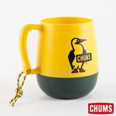 【日本製】CHUMS 露營野餐 圓桶馬克杯 黃/森林 (450ml) CH621047Y039