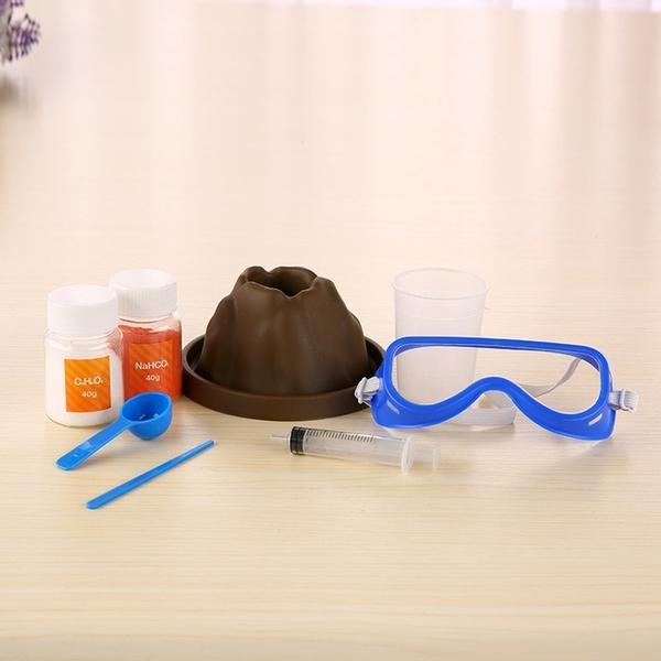 化學實驗 火山岩 岩漿 火山爆發 教學玩具 科學實驗 科學玩具 DIY教學 DIY實驗套裝【塔克玩具】