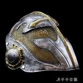 珍藏版影視聖殿騎士萬聖節樹脂防護舞會扮演面具 居樂坊生活館