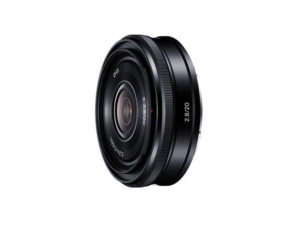 【震博】Sony E 20mm F2.8 廣角鏡頭 (分期0利率;台灣索尼公司貨)