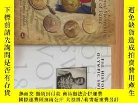 二手書博民逛書店THE罕見HISTORY OF OLYMPIC SWIMMING