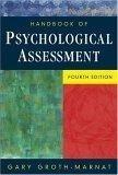 二手書博民逛書店《Handbook of Psychological Asses