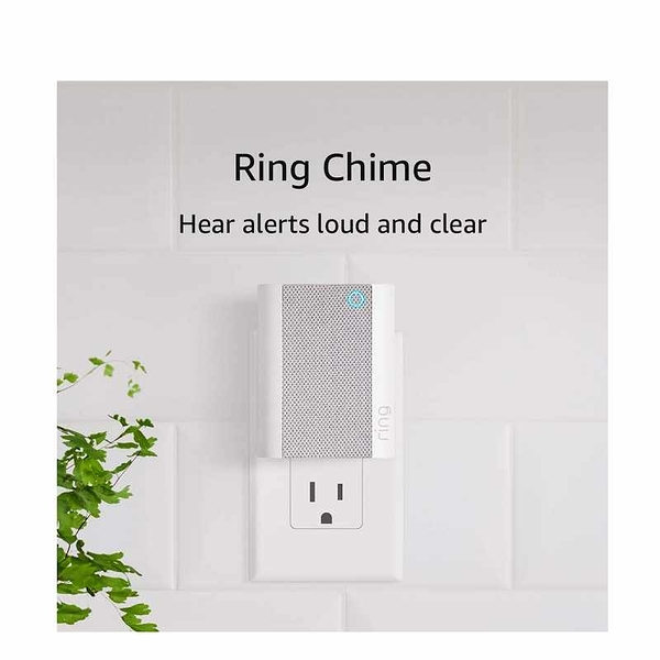 [美國代購] Ring Chime 門鈴專用喇叭 Speaker for Your Ring Video Doorbell
