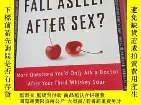 二手書博民逛書店Why罕見Do Men Fall Asleep After Se