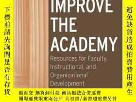 二手書博民逛書店To罕見Improve the Academy: Resources for Faculty, Instructi