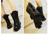 ~803 ❤愛麗絲的最愛~❤ 再上市  綁帶軍靴拳擊靴機車靴
