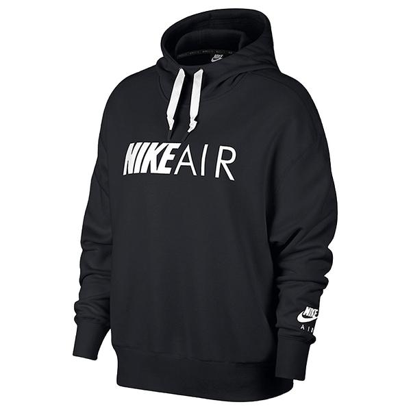 Nike NSW AIR HOODIE 女裝 長袖 連帽 休閒 黑 【運動世界】 AR3655-010