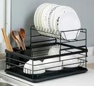 瀝水架 居家家廚房用品置物架家用瀝水碗架放碗櫃餐具水槽臺面碗碟收納架 【夏日新品】