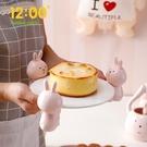 多層果盤點心糖果盤甜品臺展示架創意零食個性托盤家用可愛蛋糕盤 - 古梵希