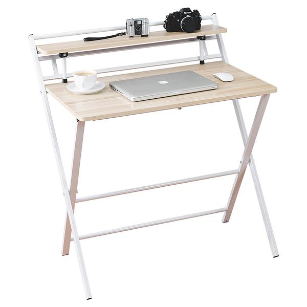 威瑪索 書桌/辦公桌/免安裝X型折疊桌-寬84深60高93cm