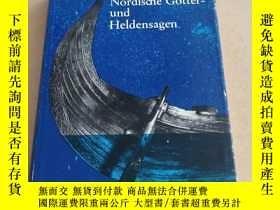 二手書博民逛書店Nordische罕見Gotter-Und Helden-Sag