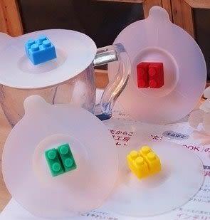 【發現。好貨】生活創意雜貨 樂高積木杯蓋 軟矽膠防漏杯蓋矽膠杯蓋可插湯勺 lego杯蓋