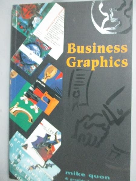 【書寶二手書T8/設計_XBF】Business Graphics_Mike Quon, Graphic Design