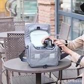 佳能相機包單反微單便攜可愛單肩男女攝影背包M6M100M5080D200D 新品全館85折