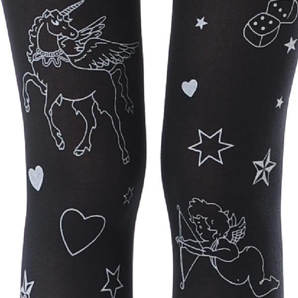 丘比特飛馬刺青褲襪 NO.695-197