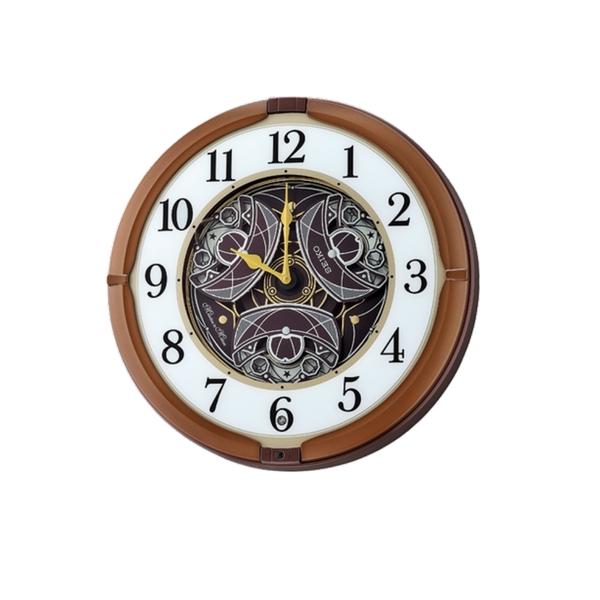 附發票 39公分【時間光廊】SEIKO 日本精工 舞動面盤 音樂報時掛鐘 QXM380B 音樂鐘