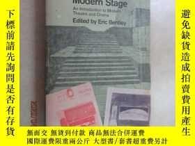 二手書博民逛書店英文書罕見The Theory of the Modern Stage 共493頁Y15969