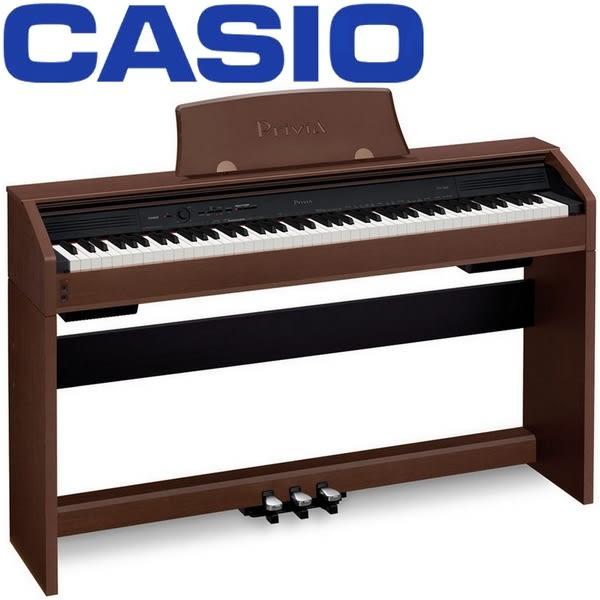 【非凡樂器】CASIO卡西歐 PX-760標準88鍵滑蓋式數位鋼琴胡桃款 / 贈琴椅.耳機.譜燈.保養組 / 公司貨