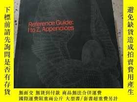 二手書博民逛書店Reference罕見Guide I to Z,Appendic