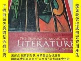 二手書博民逛書店Bedford罕見Introduction to Literat