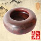 紅酸枝圍棋罐紅木小件禮品古工藝品 木質圍棋盒