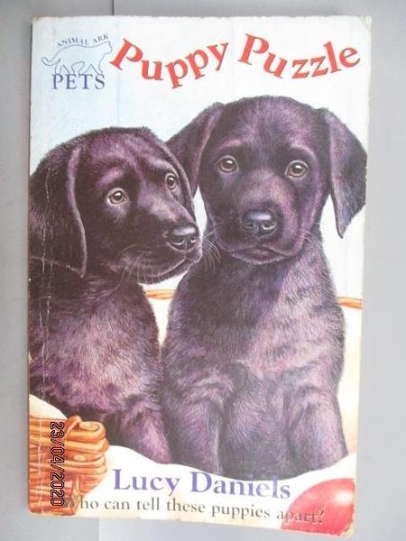 【書寶二手書T3/原文小說_FVQ】Puppy Puzzle_Lucy Danicls