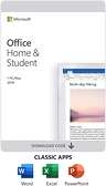 微軟 Office 2019 家用英文版 Home and Student P6 (WIN/MAC共用)
