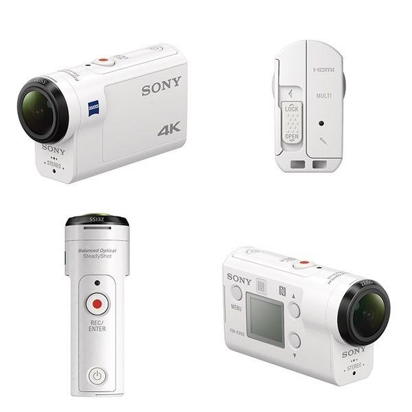 送64GB+原電第2顆+充電器【福笙】SONY FDR-X3000R 含RM-LVR3 遙控器 (公司貨)