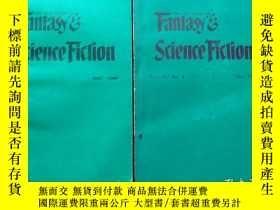 二手書博民逛書店The罕見Magazine of Fantasy & Science Fiction:DEC.1989、Oct.1