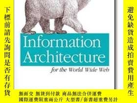 二手書博民逛書店Information罕見Architecture For The World Wide WebY364682