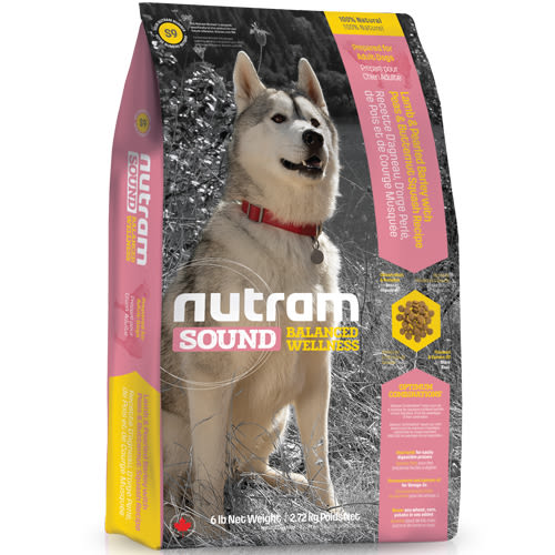 【寵物王國】nutram紐頓-S9健康天然羊肉成犬(羊肉南瓜)13.6kg