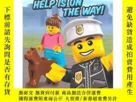 二手書博民逛書店Lego罕見City Adventures: Help Is on the Way! 樂高世界大冒險:救援在路上奇