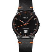 MIDO美度 Commander 香榭大日期機械錶-黑/42mm M0216263605101