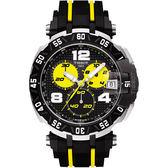 限量 TISSOT 天梭 T-Race THOMAS LUTHI 計時手錶-45mm T0924172705700