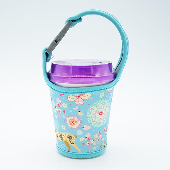 ✭慢思行✭【P130】手搖飲料杯套 奶茶 咖啡杯 潛水料 環保手提袋 500CC 700cc 機車掛式