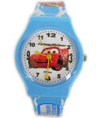 【卡漫城】 閃電麥昆 手錶 淺藍 ㊣版 Cars 卡通錶 Mcqueen 女錶 男錶 膠錶 汽車總動員 兒童錶