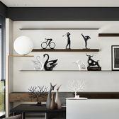 嚴選鉅惠限時八折北歐現代簡約軟裝家居飾品客廳酒柜裝飾品電視柜擺件創意飾品擺件