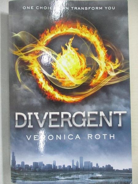 【書寶二手書T5/原文小說_GWC】Divergent_Veronica Roth