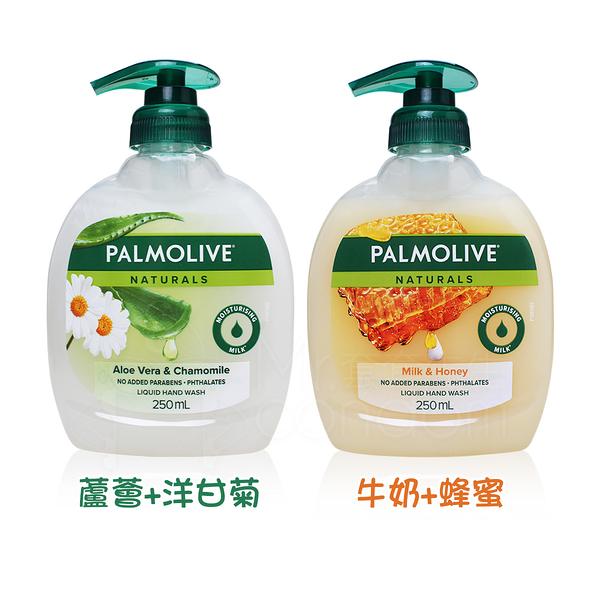 Palmolive 洗手乳 250ml 蘆薈+洋甘菊 /牛奶+蜂蜜 對抗疫情 勤洗手【套套先生】