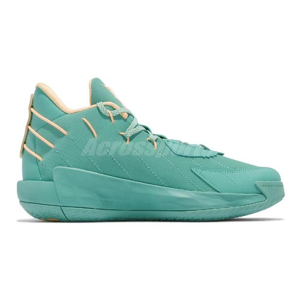 【海外限定】adidas 籃球鞋 Dame 7 GCA 湖水綠 男鞋 Damain Lillard 愛迪達 【ACS】 FZ1093