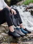 雨鞋廚房水鞋男夏季低筒時尚短筒雨鞋防滑工作雨靴男洗車防水膠鞋 交換禮物