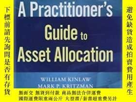 二手書博民逛書店A罕見Practitioner s Guide To Asset AllocationY256260 Will