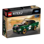 【LEGO 樂高 積木】LT-75884 賽車系列 Speed 1968福特野馬 Ford Mustang Fastback(183pcs)