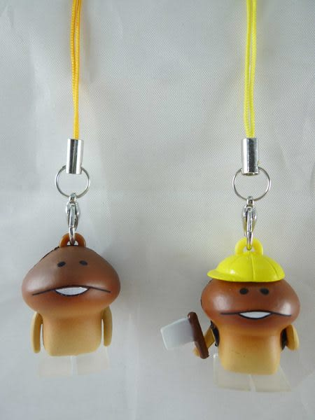 【震撼精品百貨】Touch Detective 菇菇栽培方吉磨菇~造型吊飾防塵塞『共兩款』