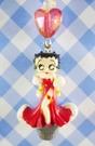 【震撼精品百貨】Betty Boop_貝蒂~手機吊飾-禮服(愛心珠)